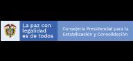 Consejería Presidencial para la Estabilización y Consolidación